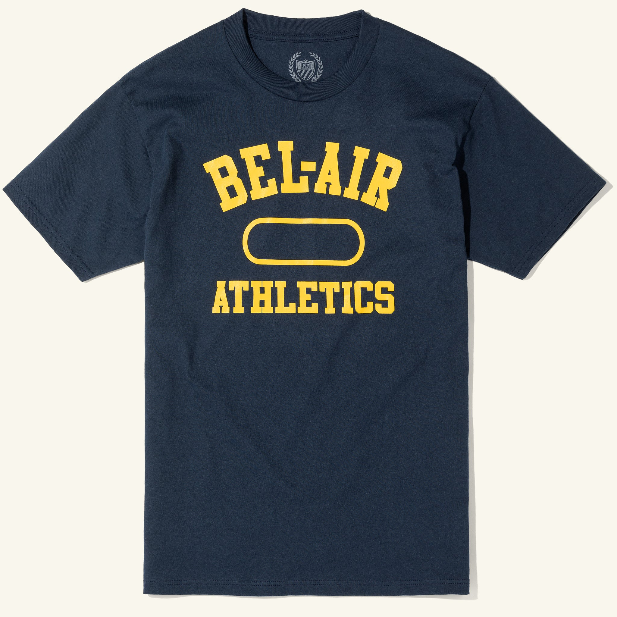 Gym Logo Tee Navy Gold Image  #1