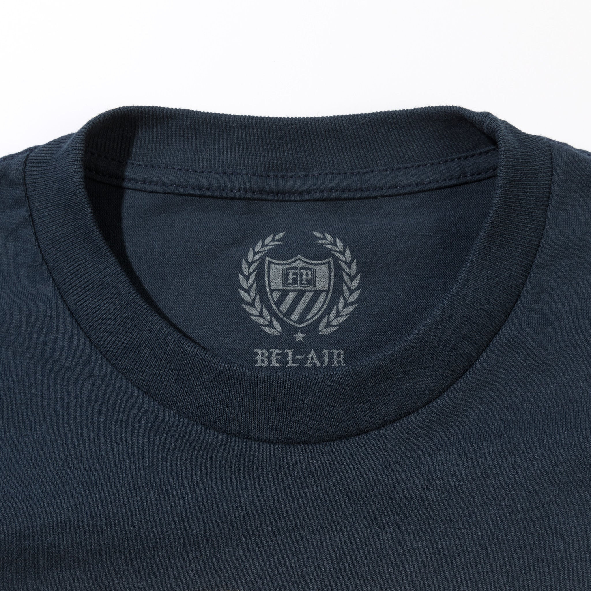 Gym Logo Tee Navy Gold Image  #4