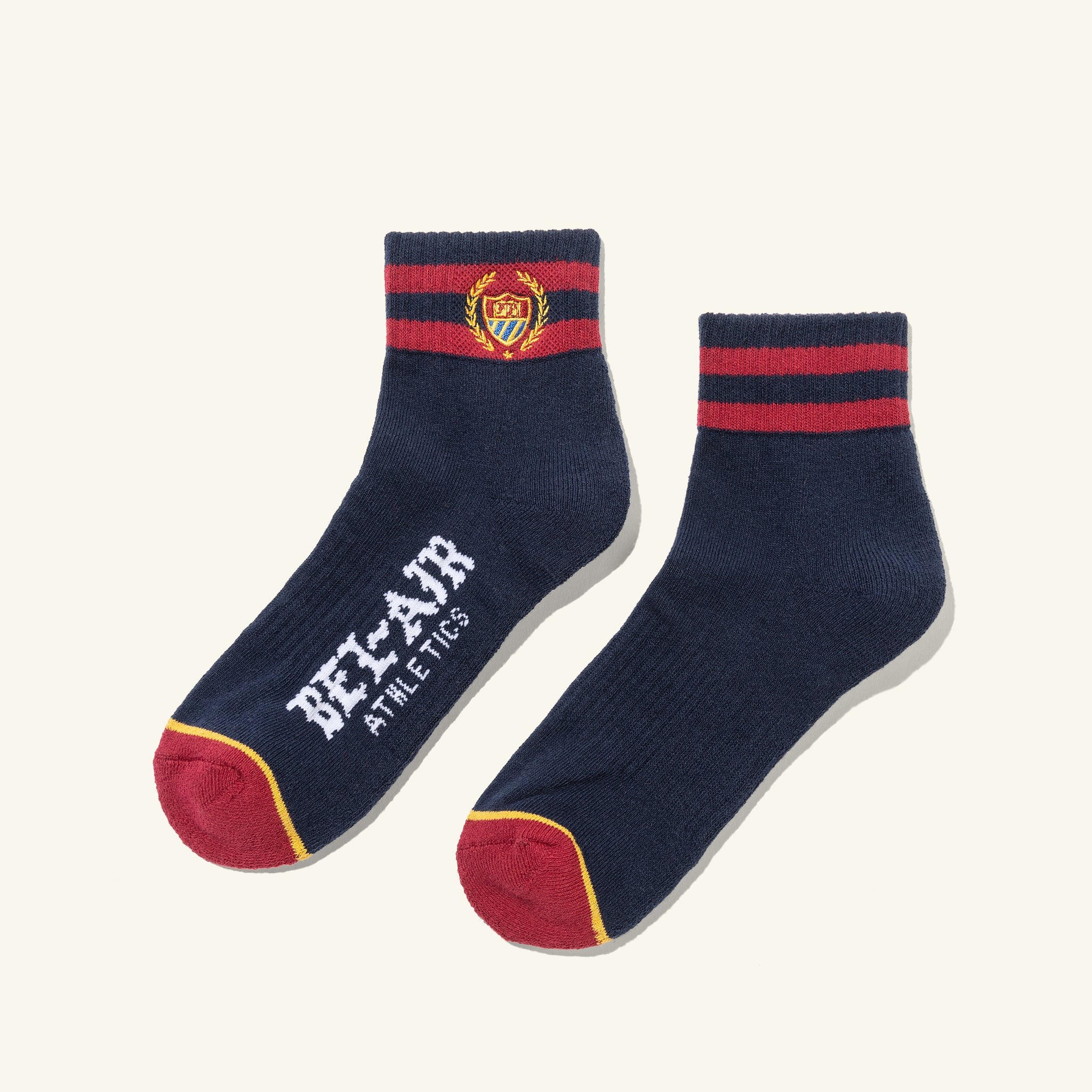 Bel Air Court Socks Navy Image  #1