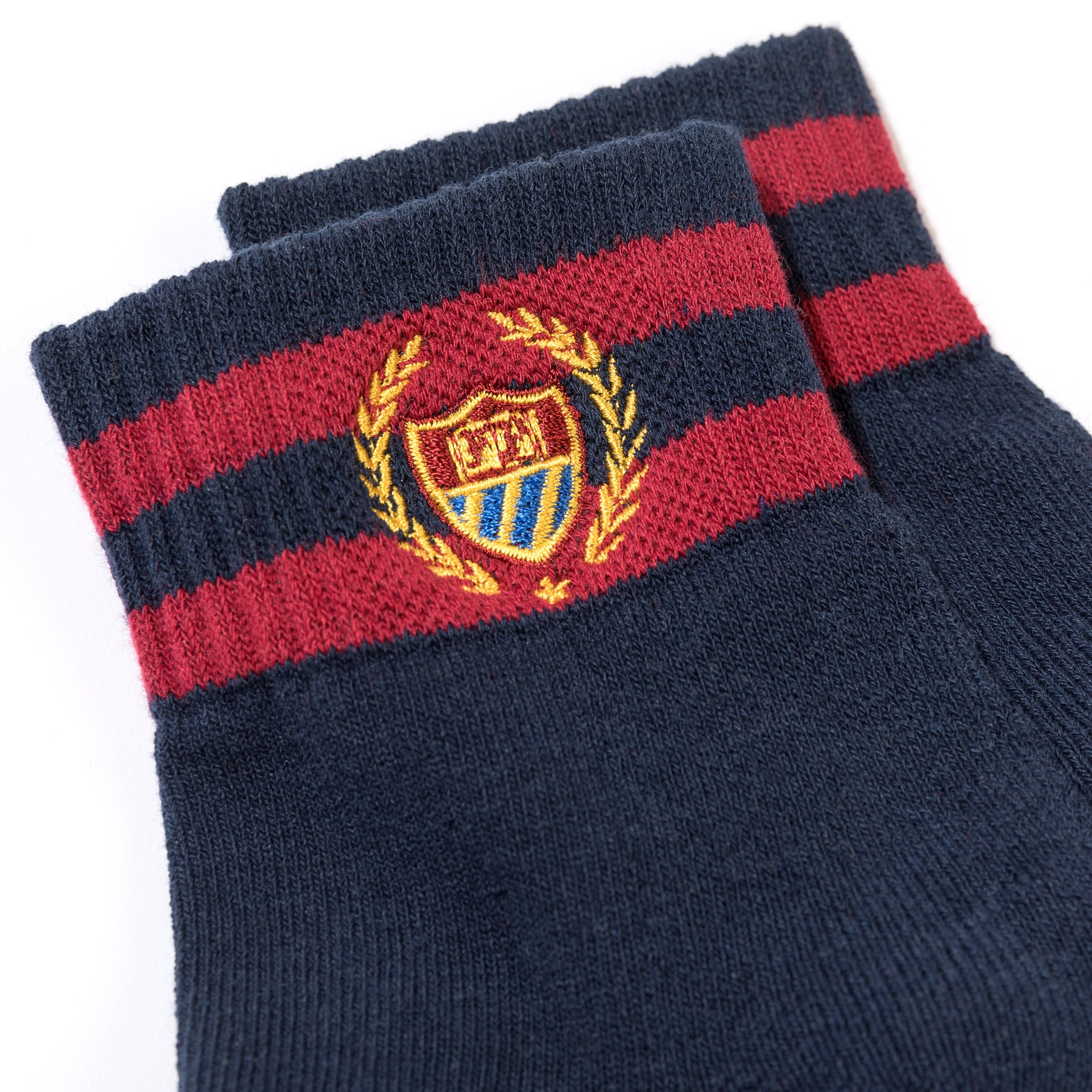 Bel Air Court Socks Navy Image  #2