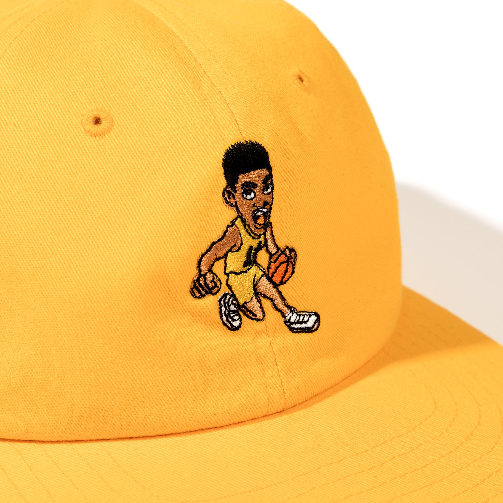 Fresh Prince Dribble Drive 6 Panel Hat Gold Image  #2
