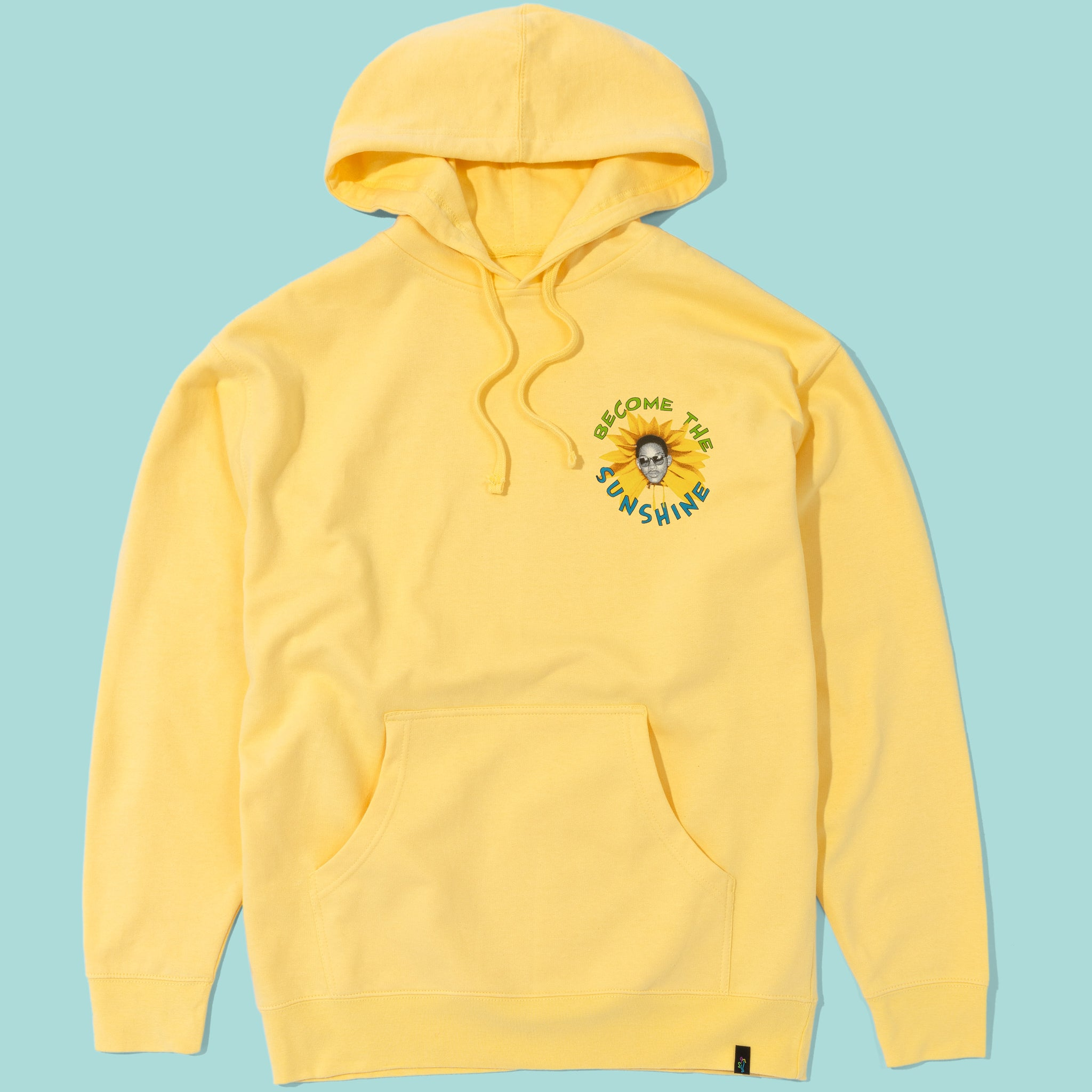 Fresh Prince Stop And Smell The Flowers Hoodie Dusty Yellow Image  #1