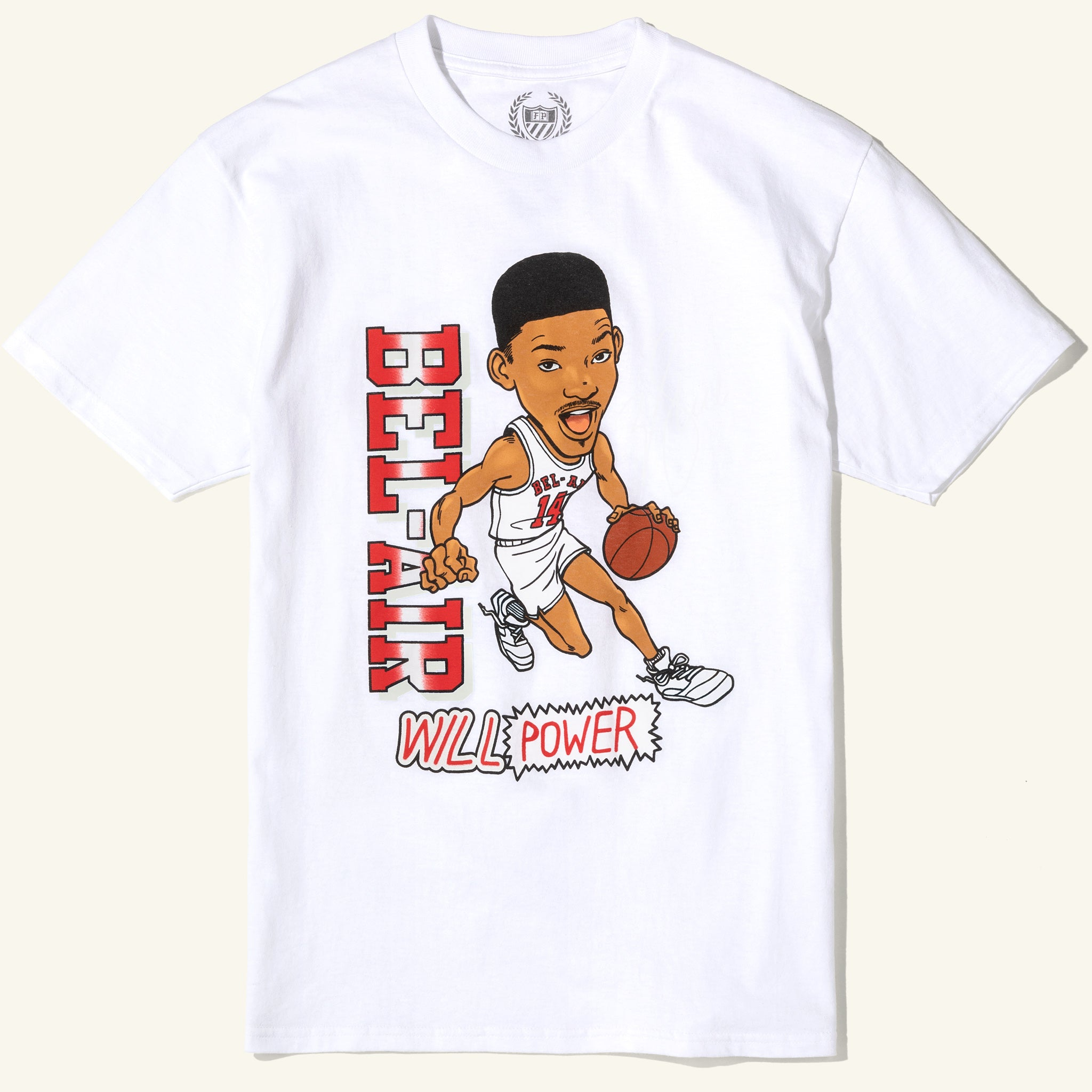 Fresh Prince Will Power Tee White Image  #1