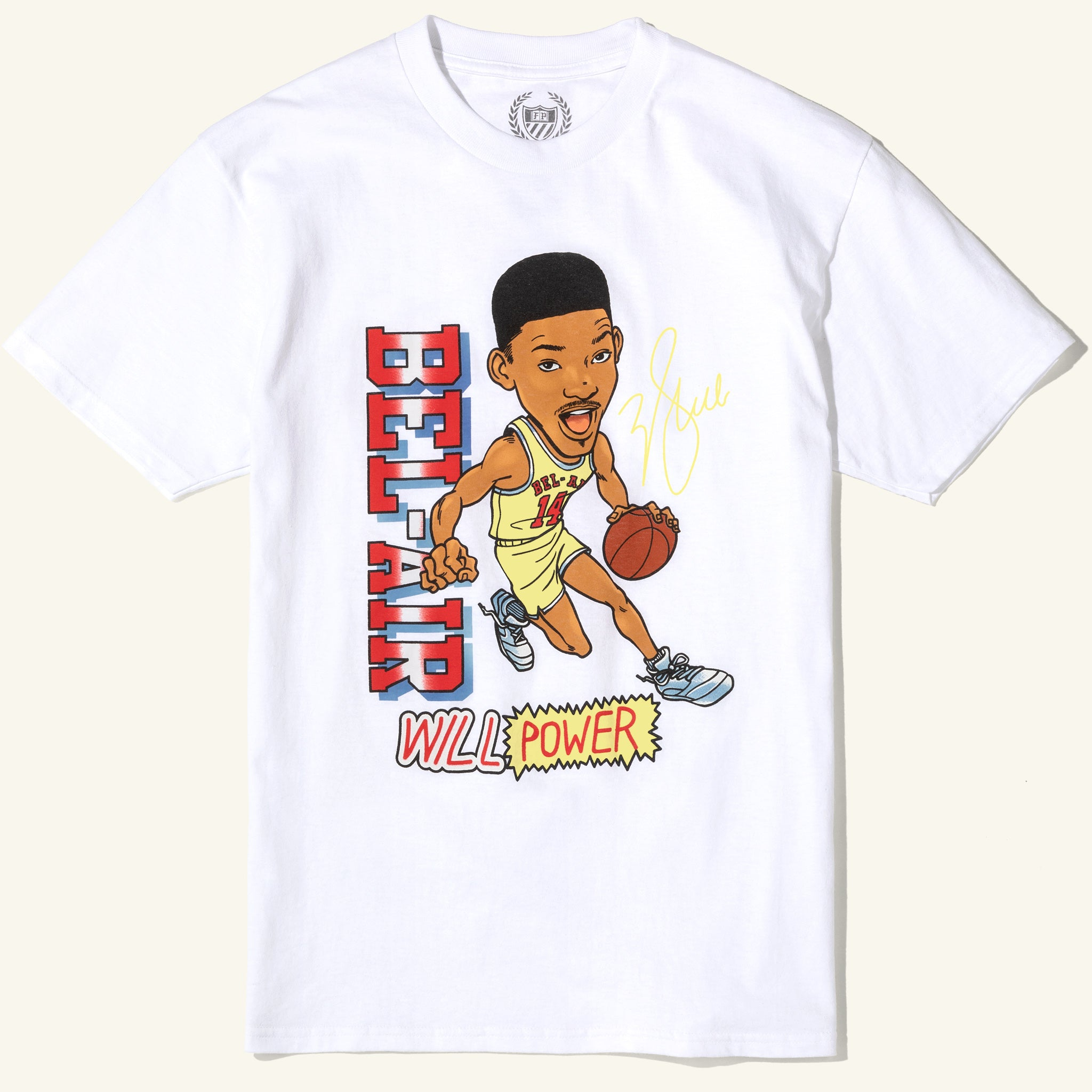 Fresh Prince Will Power Tee White Image  #2