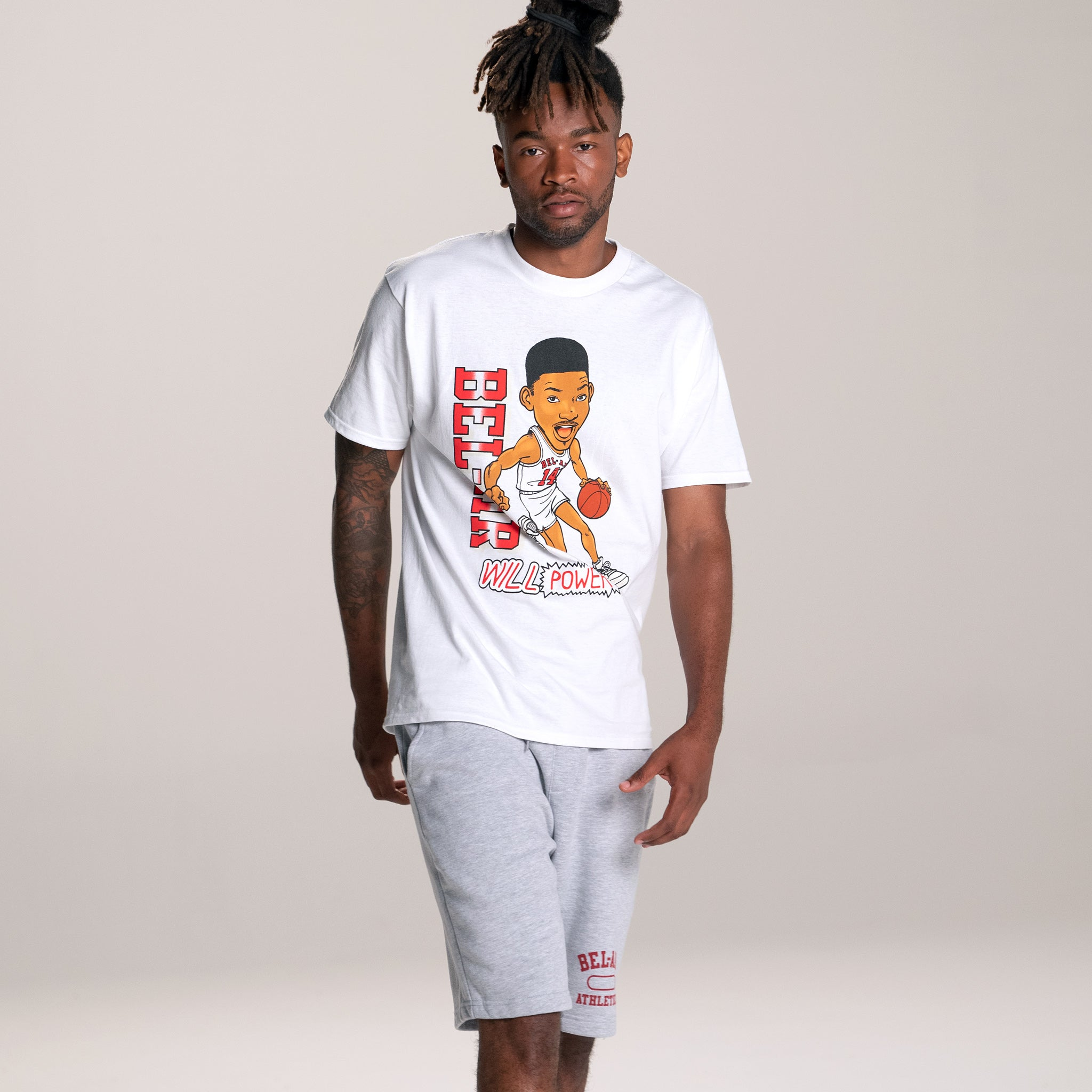 Fresh Prince Will Power Tee White Image  #3