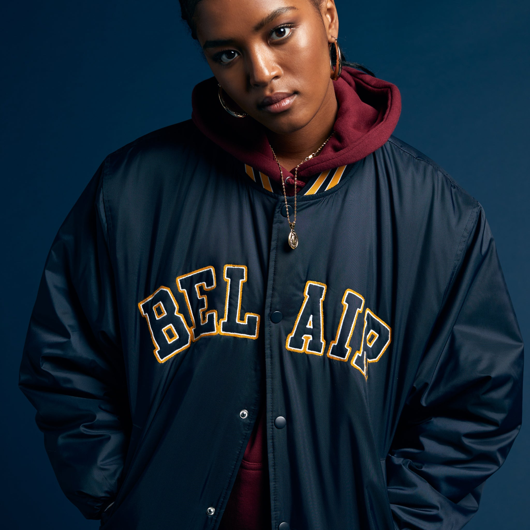 Bel-Air Skipper Jacket, Navy