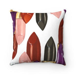 """Fearless"" by MARIELA Spun Polyester Square Pillow"