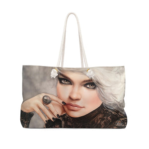 """Platina"" by MARIELA Shopping/Weekender Bag (ORDER BY DEC 11TH FOR DELIVERY BEFORE X-MAS, USA only)"