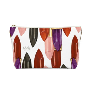 """Fearless"" by MARIELA Small Makeup/Accessory Pouch w T-bottom"