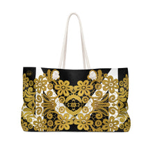 """Gilded Crown"" by MARIELA Gym/Shopping/Weekender Bag"