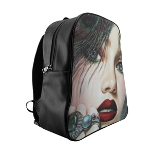 """Blushed"" by MARIELA Vegan Leather Fashion Backpack"