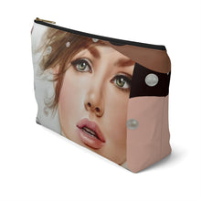 """Spark"" by MARIELA Large Makeup/Accessory Pouch w T-bottom"