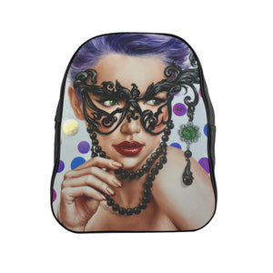 """Dama"" by MARIELA Vegan Leather Fashion Backpack"