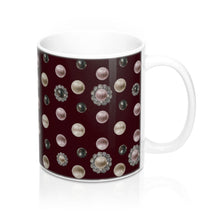 """Coquette Violeta"" by MARIELA Mug 11oz (ORDER BY DEC 14TH FOR DELIVERY BEFORE X-MAS, USA only)"