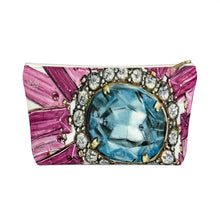 """Bestowed"" by MARIELA Small Makeup/Accessory Pouch w T-bottom"