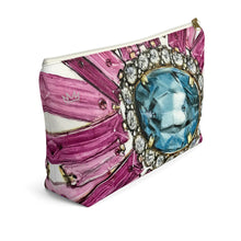 """Bestowed"" by MARIELA Large Makeup/Accessory Pouch w T-bottom"