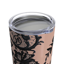 """Black Lace Amber"" by MARIELA Tumbler 20oz"