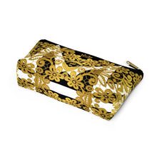 """Gilded Crown"" by MARIELA Small Makeup/Accessory Pouch w T-bottom"