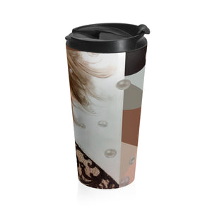 """Spark"" by MARIELA Stainless Steel Travel Mug"