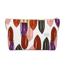 """Fearless"" by MARIELA Large Makeup/Accessory Pouch w T-bottom"
