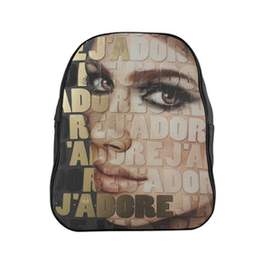 """J'Adore"" by MARIELA Vegan Leather Fashion Backpack Purse"