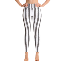 """Lace Barcode"" by MARIELA Fashion Leggings"