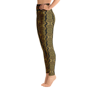 """Gilded Nuit"" by MARIELA Fashion Leggings"