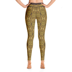 """Gilded Umber"" by MARIELA Fashion Leggings"