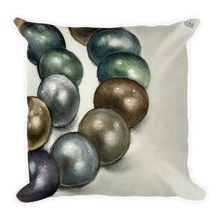 """Grete 2"" by MARIELA Square Pillow"