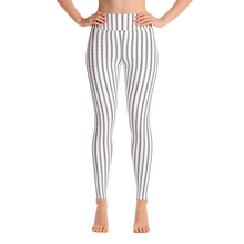"""Coquette White"" by MARIELA Fashion Leggings"