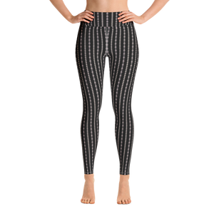 """Coquette Black"" by MARIELA Fashion Leggings"