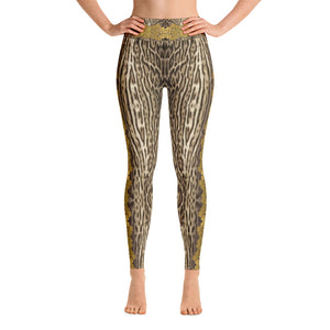 """Gilded Pard"" by MARIELA Fashion Leggings"