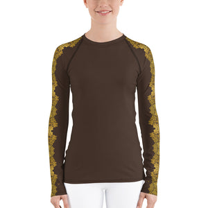 """Gilded Umber"" by MARIELA Athletic Shirt"