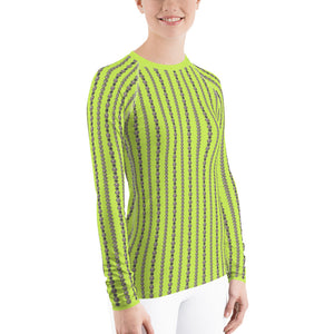 """Coquette Neon Lime"" by MARIELA Athletic Shirt"