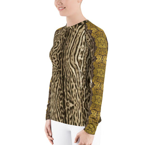 """Gilded Pard"" by MARIELA Athletic Shirt"