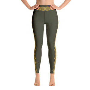 """Gilded Army"" by MARIELA Fashion Leggings"