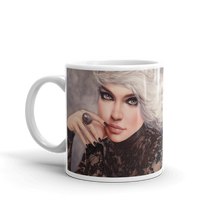 """Platina"" by MARIELA, Mug 11 fl oz (ORDER BY DEC 14TH FOR DELIVERY BEFORE X-MAS, USA only)"