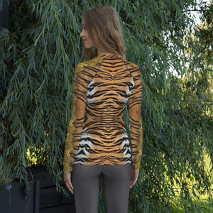 """Gilded Tiger"" by MARIELA Athletic Shirt"