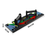 FITNESS PUSH-UP BOARD - 14 in 1 Effekt! - Casefactory e.K.