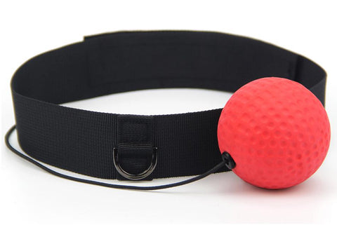 Boxing Reflex/Koordinations Ball – mit Verstellbarem Stirnband