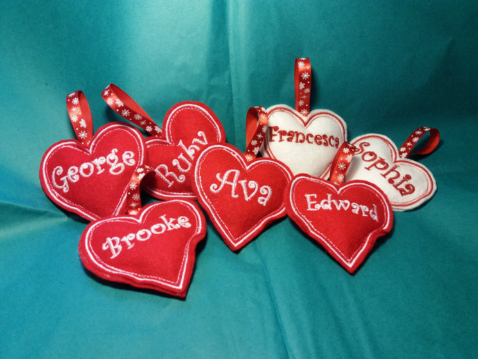 Personalised Christmas Tree Decorations - A lovely keepsake