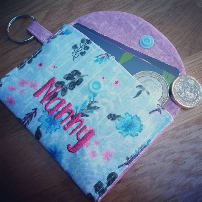 Mother's Day Make - Keyring Purse Tutorial