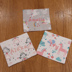 Examples of book bag wraps