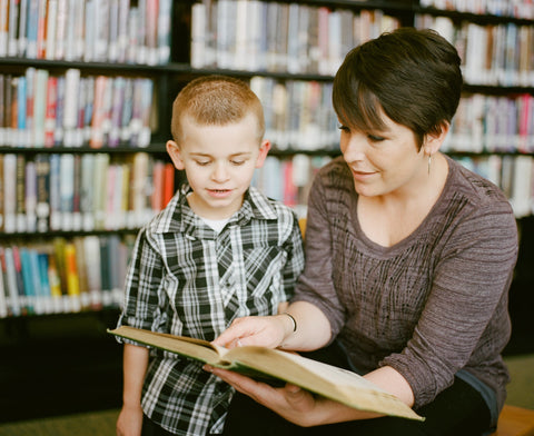 Helping a child to read