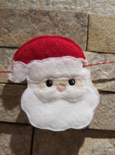 Load image into Gallery viewer, Felt Christmas Bunting - Little Luna Creations