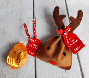 Reindeer Treat Bags - Little Luna Creations