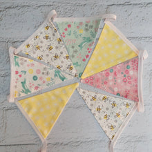 Load image into Gallery viewer, Spring themed Bunting - Little Luna Creations