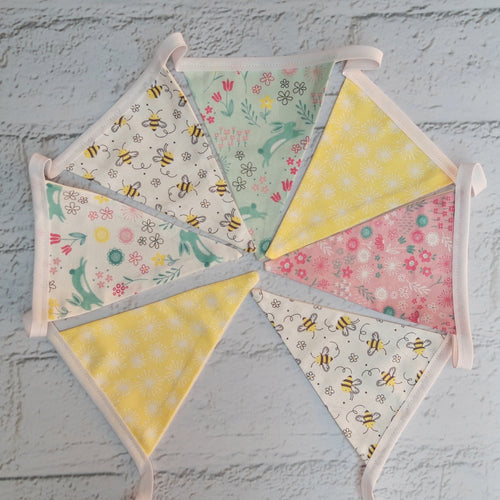 Spring themed Bunting - Little Luna Creations