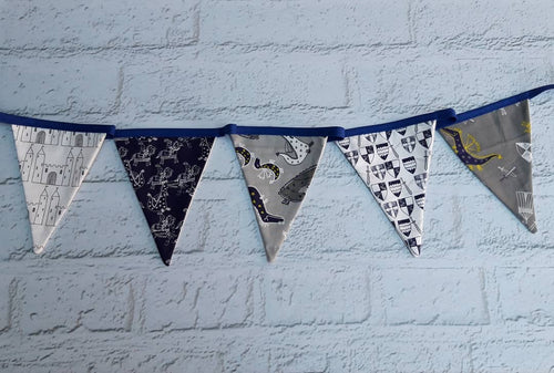 Dragons and Knights Bunting - Little Luna Creations