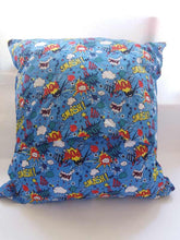 Load image into Gallery viewer, Superhero Cushion - Little Luna Creations